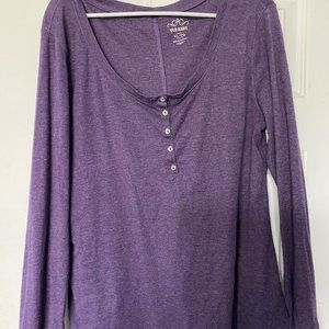 Old Navy button front long sleeve